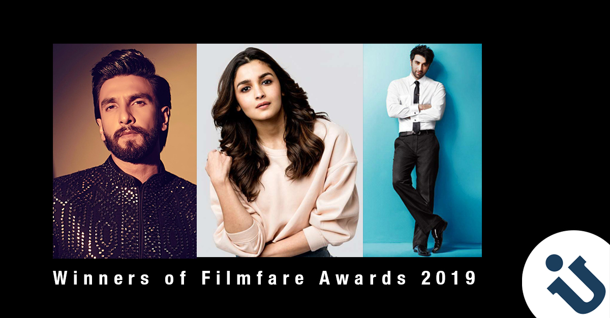 FEATURES: Winners of Filmfare Awards 2019