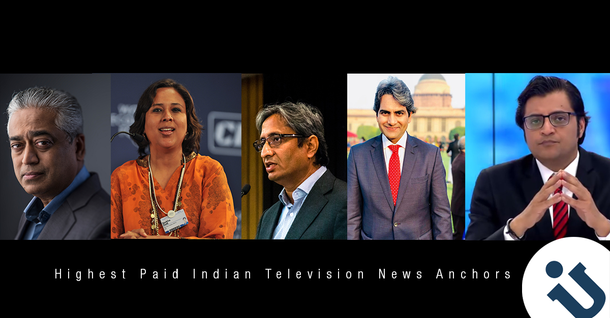5 Highest Paid Indian Television News Anchors | FEATURES - UDOU IN
