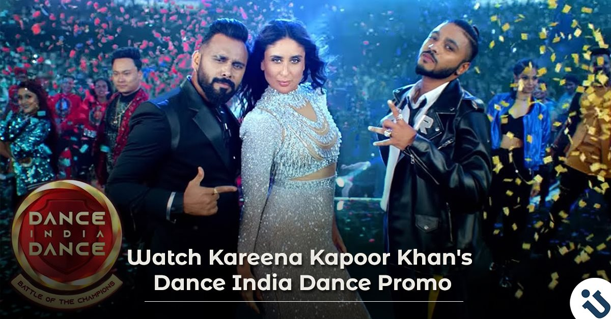 Watch Kareena Kapoor Khan's Dance India Dance Promo