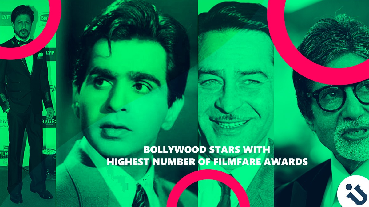 Bollywood Superstars With Most Filmfare Awards