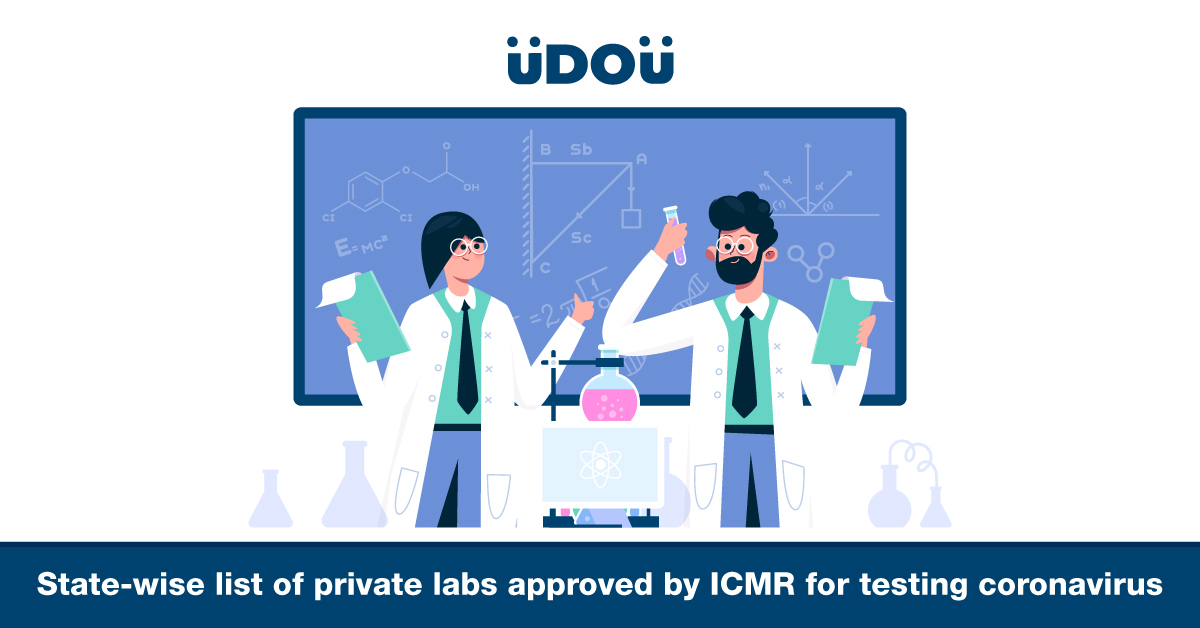 State-Wise List of Private Labs Approved by ICMR for Testing COVID-19